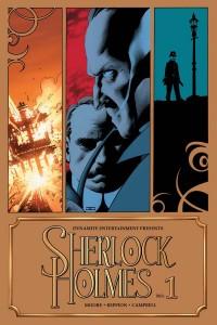 Sherlock Holmes #1 cover by John Cassaday