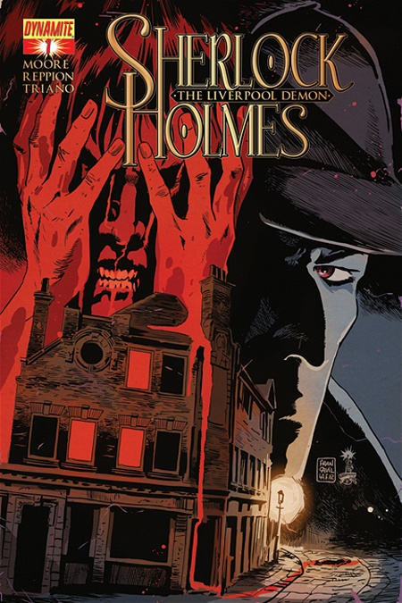 Sherlock Holmes the Liverpool Demon #1 cover by Francesco Francavilla