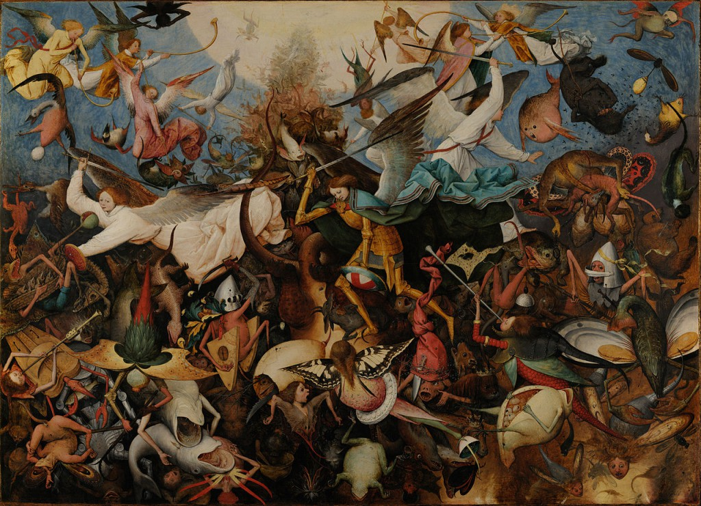 Pieter Bruegel the Elder - the fall of the rebel angels