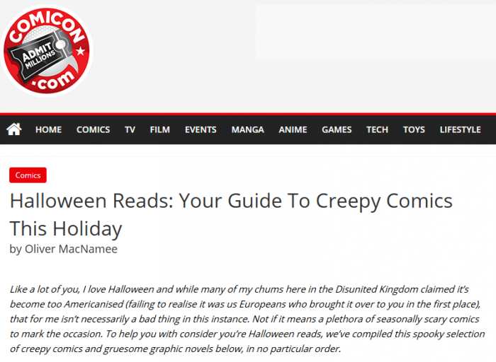 Tagged Comicon.com, Ghost Stories of an Antiquary, Halloween, Vol 2